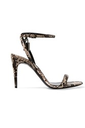 Tom Ford Python Sandals Snake Print