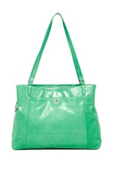 Hobo Jerri Leather Handbag Green