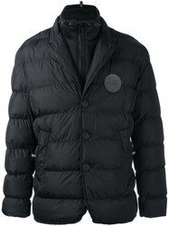 Love Moschino Zip Up Padded Jacket Black
