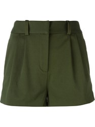 Versace Sequin Detail Mini Shorts Green