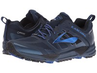 Brooks Cascadia 11 Gtx Dress Blues Electric Blue Black Men's Running Shoes