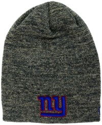 New Era New York Giants Slouch It Knit Hat Heather Gray