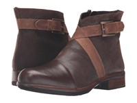 Naot Footwear Boreas Walnut Leather Mine Brown Leather Saddle Brown Leather Women's Boots