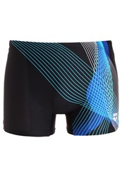Arena Viborg Swimming Shorts Black Turquoise