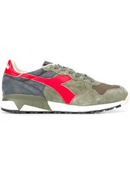 Diadora Contrast Panel Sneakers Green