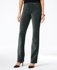 Styleandco. Style Co. Corduroy Pull On Bootcut Pants Only At Macy's Carbon Grey