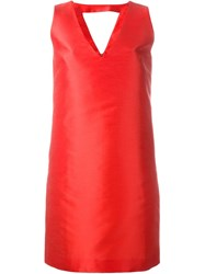 P.A.R.O.S.H. 'Pulp' Shift Dress Red