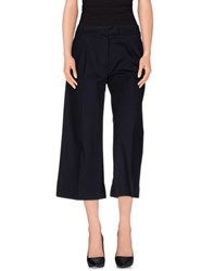 Massimo Rebecchi Trousers 3 4 Length Trousers Women Dark Blue