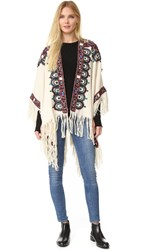 Figue Havelli Poncho Ivory Multi