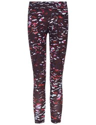 Varley Black Tiger Lily Pacific Leggings Multi