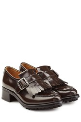 Churchs Fringed Leather Loafer Brown