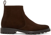 Brown Suede Victor Boots