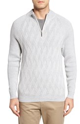 Tommy Bahama Men's Ocean Crest Quarter Zip Sweater