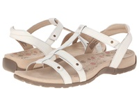 Taos Footwear Trophy White Women's Sandals