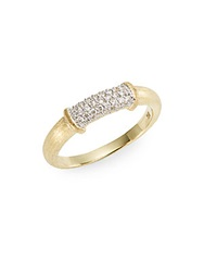 Jude Frances Classic Pave Diamond And 18K Yellow Gold Ring