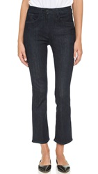 3X1 The Principle High Rise Crop Micro Flare Jeans Alpha