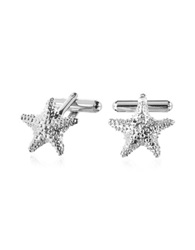Forzieri Old Style Starfish Cufflinks Silver
