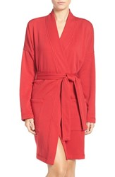 Uggr Women's Ugg 'Braelyn' Fleece Robe Lipstick Red