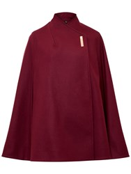 Ted Baker Aillaa Core Wrap Cape Oxblood