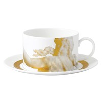 Wedgwood Gilded Muse Teacup And Saucer