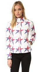 Perfect Moment Mini Duvet Ii Ski Jacket Star Print