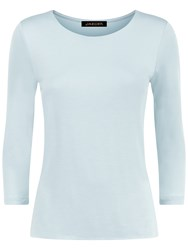 Jaeger Essential Jersey Top Ice Green