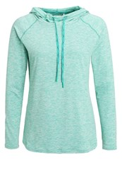 Venice Beach Ina Long Sleeved Top Cayman Melange Turquoise