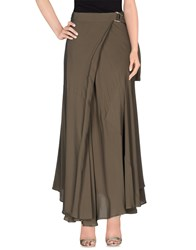 Space Style Concept Skirts Long Skirts Women Grey