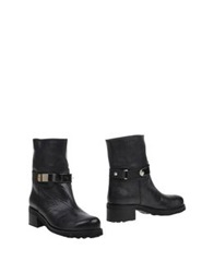 Sucre Ankle Boots Black