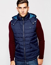 Jack Wills Gilet In Navy