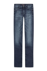 7 For All Mankind Seven For All Mankind Slim Straight Leg Jeans Blue
