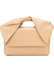 J.W.Anderson J.W. Anderson Twist Handle Tote Nude And Neutrals