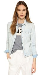 Maison Scotch Light Bleached Trucker Jacket