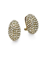Heidi Daus Time To Sparkle Earrings Gold