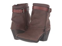Blowfish Shocks Coffee Texas Pu Whiskey Duecut Pu Women's Zip Boots Brown