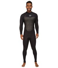Billabong 302 Absolute X Back Zip Wetsuit Black Men's Wetsuits One Piece
