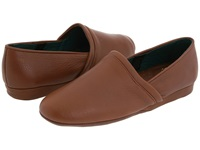 L.B. Evans Aristocrat Opera Brown Leather Men's Slippers