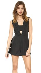Finders Keepers Logic Romper Black