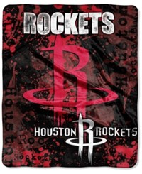 Northwest Company Houston Rockets Raschel Shadow Blanket