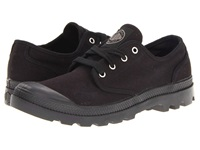 Palladium Pampa Oxford Black Black Men's Lace Up Casual Shoes