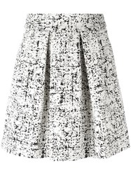 Emporio Armani Midi Full Skirt White