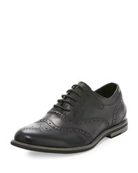 Joe's Jeans Joe's Trail Wing Tip Leather Oxford Black