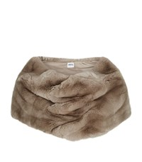 Armani Collezioni Rabbit Fur Shawl Female