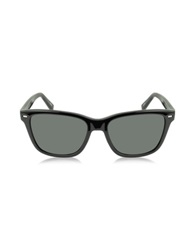 Ermenegildo Zegna Ez0002 01D Black Polarized Men's Sunglasses