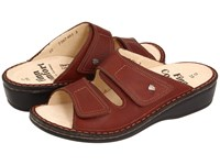 Finn Comfort Jamaica 82519 Brandy Country Soft Footbed Women's Slide Shoes Brown