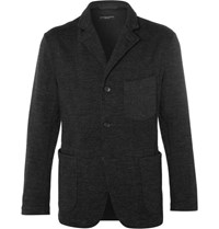 Engineered Garments Garment Untructured Wool Blend Blazer Charcoal
