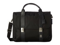 Travelpro Executive Choice Checkpoint Friendly Messenger Brief Black Messenger Bags