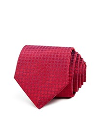 John Varvatos Star Usa Dotted Classic Tie Red