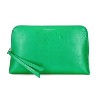 Aspinal Of London Essential Cosmetic Case Medium Grass
