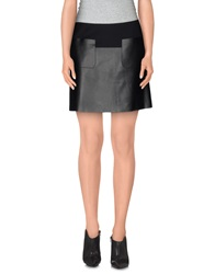 Viktor And Rolf Mini Skirts Black